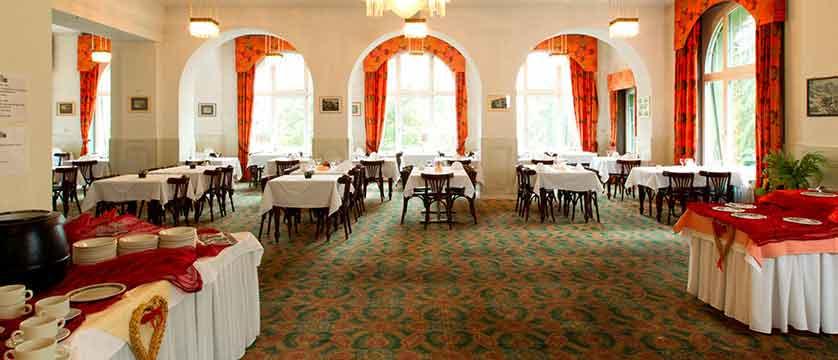 Hotel Belvedere, Wengen, Bernese Oberland, Switzerland - dining room.jpg